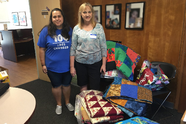 Quilting Friends Donation Helps Keep Kids Warm
