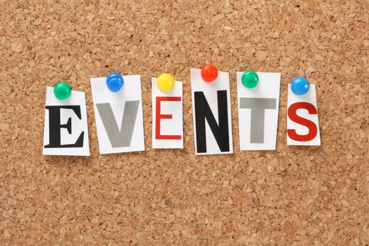 Check out the Events page